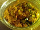 Green Peas Masala ( Green Matar Curry Dry)